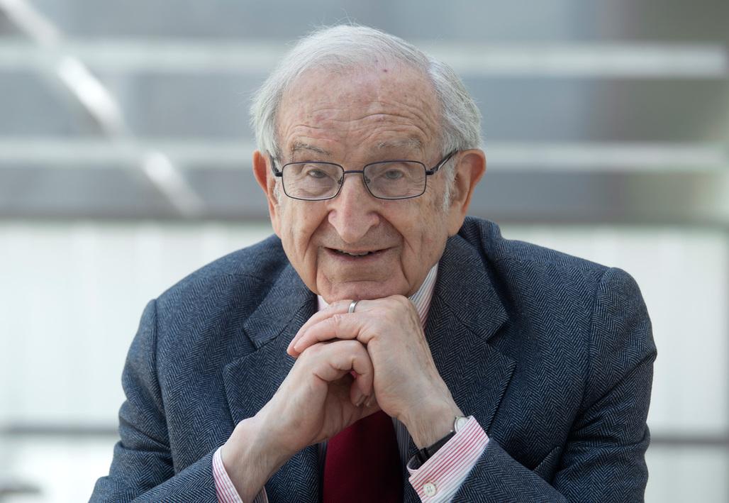 Recipient of the RIBA Royal Gold Medal 2014: Joseph Rykwert. Credit: Pawel MazurI CC Krakow