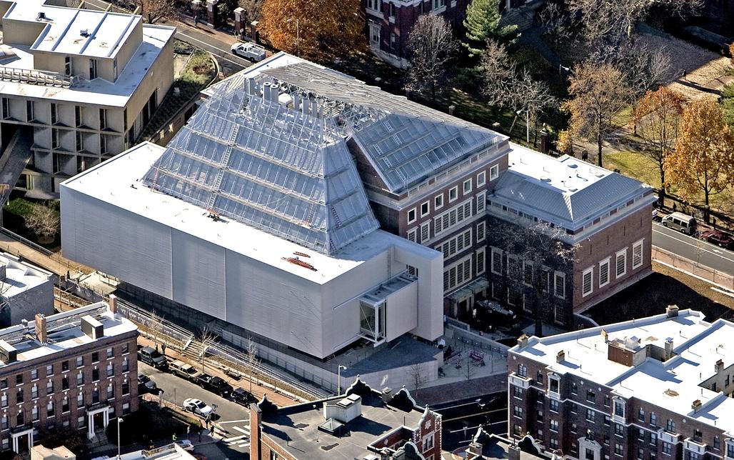 The Harvard Art museums under construction. Via: ArtNews