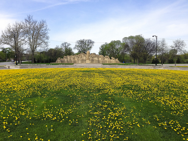 The Davis Garden at Chicagos Washington Park in 2014. The Park is one the proposed sites for Barack Obamas presidential library. Photo: John Lodder, via flickr.