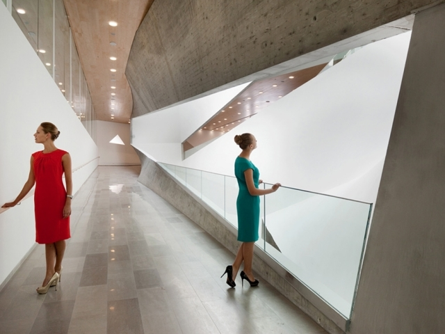 """""""square the triangle"""" is the concept of the Tel Aviv Museum of Art, Preston Scott Cohen, Inc. / Text by Lydia Parafianowicz"""