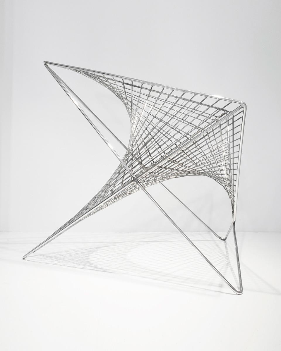 Winner of the 2013 ICFF Studio Award: Parabola Chair by Carlo Aiello (Image courtesy of Carlo Aiello)