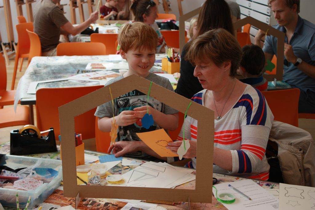 Building the Gallery Workshop. Image: Dulwich Picture Gallery