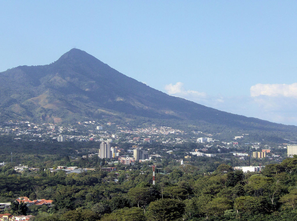 San Salvador, the capital of the Central American country of El Salvador, is one of the most crime-ridden cities in the world. Image via wikimedia.org
