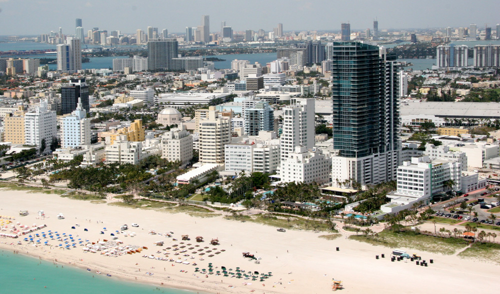 Surf's up: Miami Beach (photo via Wikipedia)