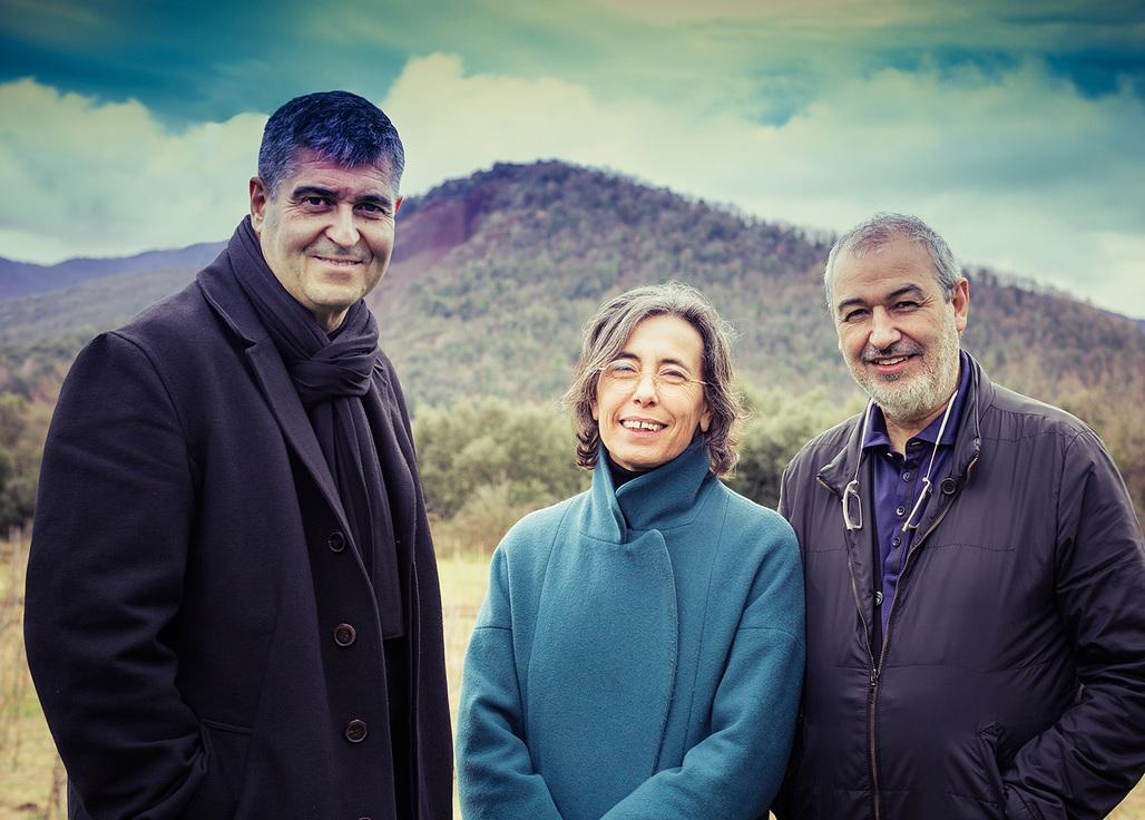 Rafael Aranda, Carme Pigem and Ramon Vilalta. Photo: Javier Lorenzo Domínguez.