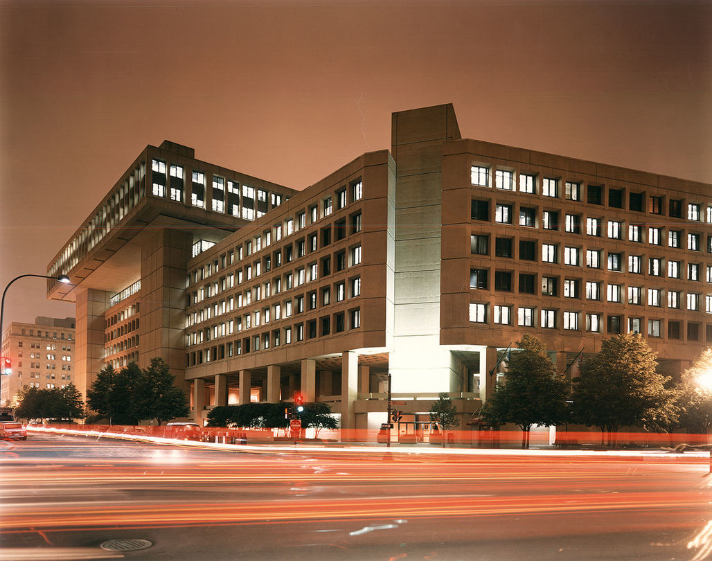 Edgar Hoover Building Image courtesy of FBI Photos