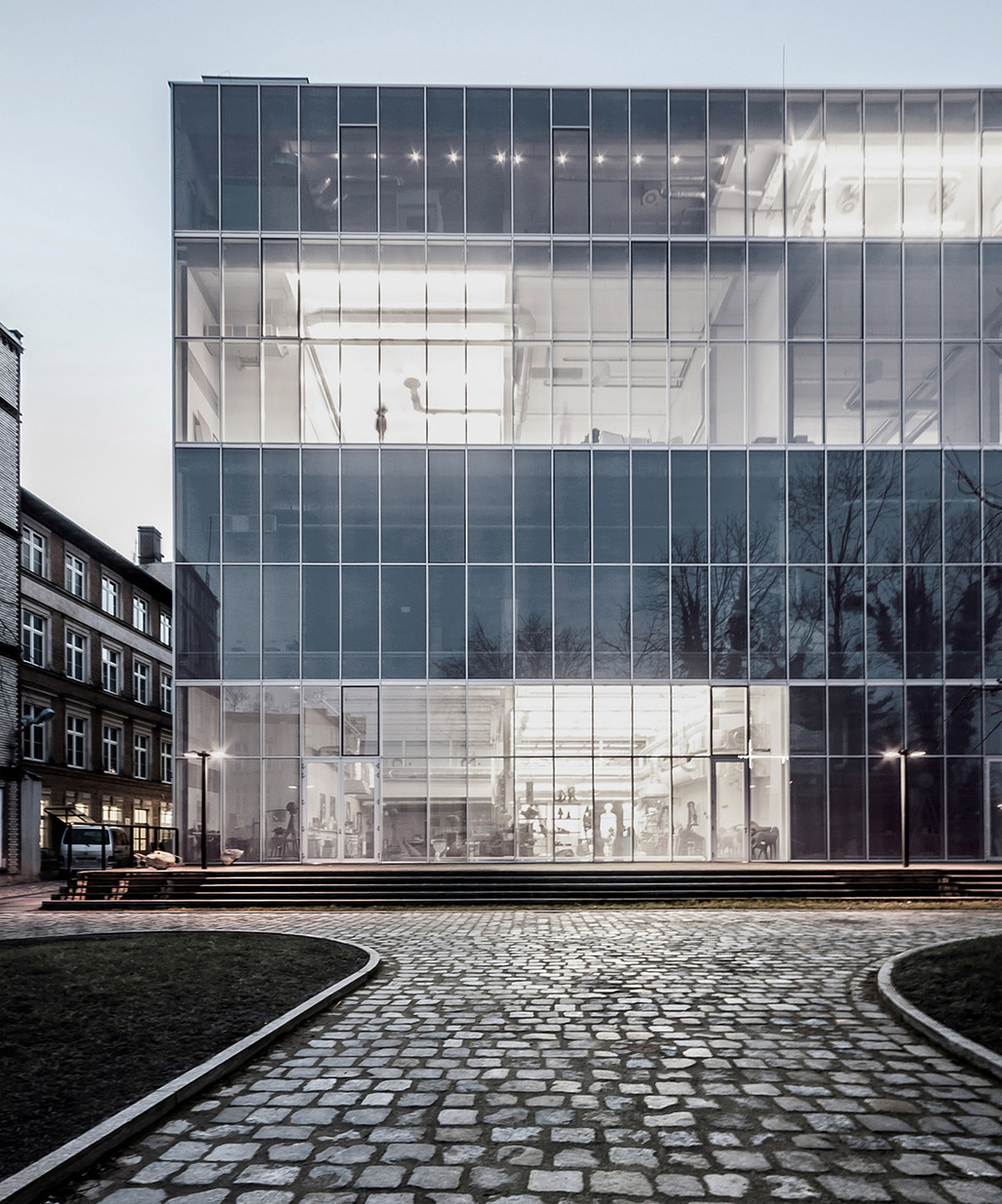 Academy of Fine Arts in Wroclaw, Poland by PAG; Photo: Maciej Lulko