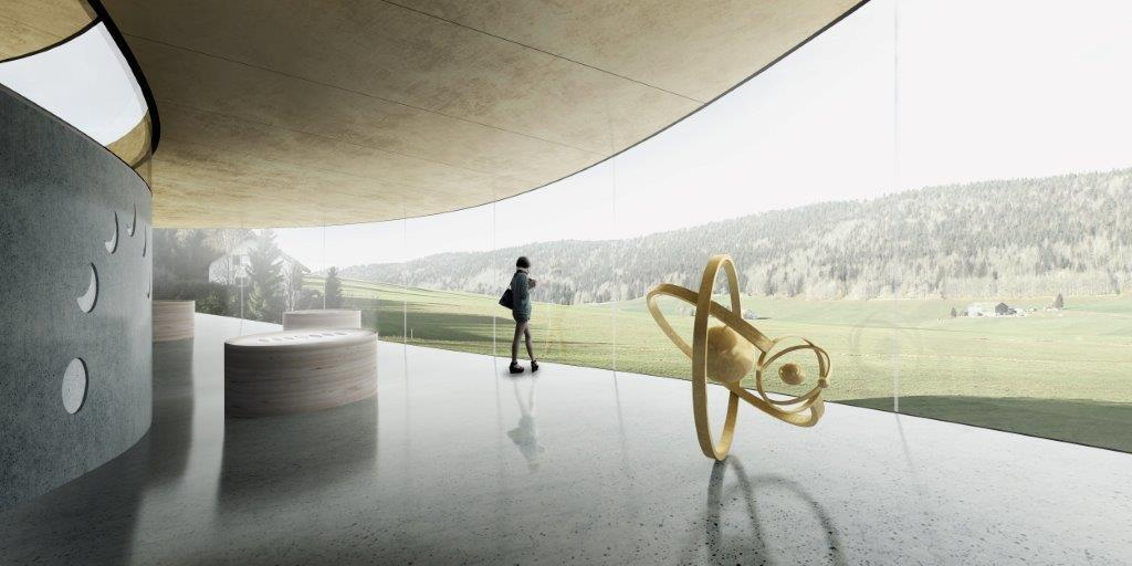 Luxury Swiss watchmaker Audemars Piguet recently selected Maison des Fondateurs, the winning proposal by BIG, in collaboration with HG Merz, Luchinger & Meyer, and Muller Illien. Image courtesy of BIG