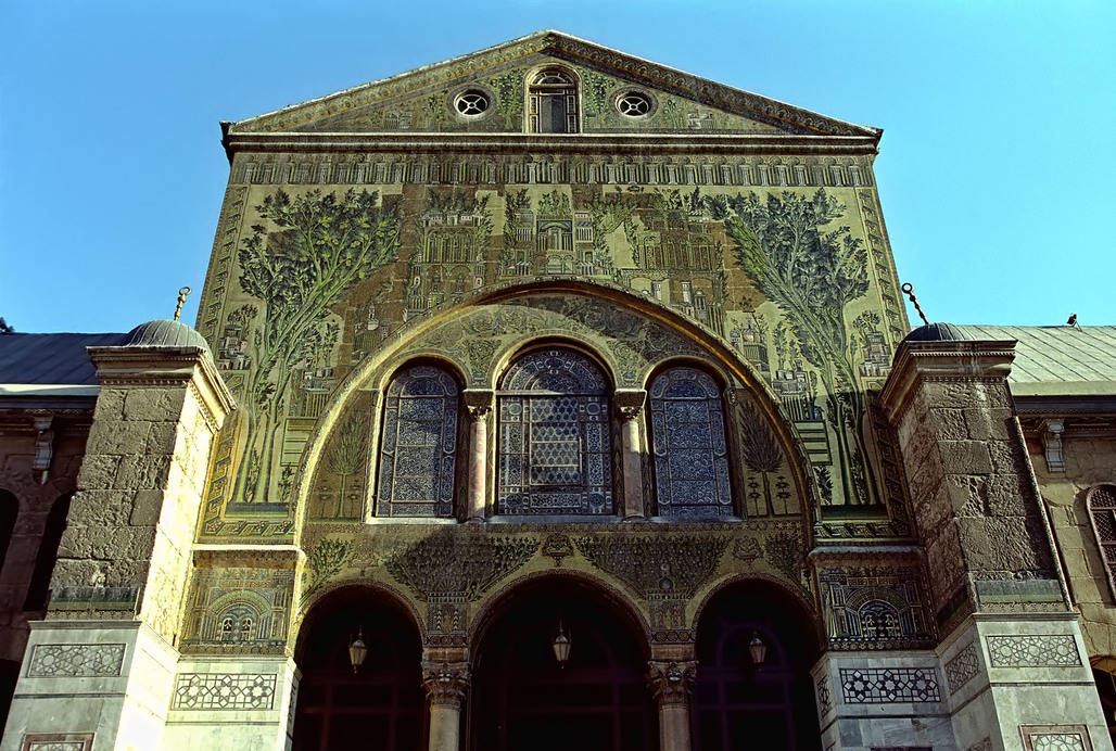 Umayyad Mosque in Damascus, Syria (Photo by Jerzy Strzelecki)