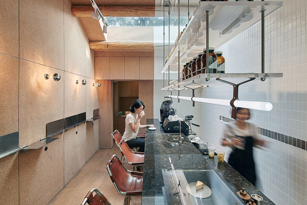 Big Small Coffee and Guestroom in Beijing by Office AIO, shortlisted in the Bars & Restaurants category.