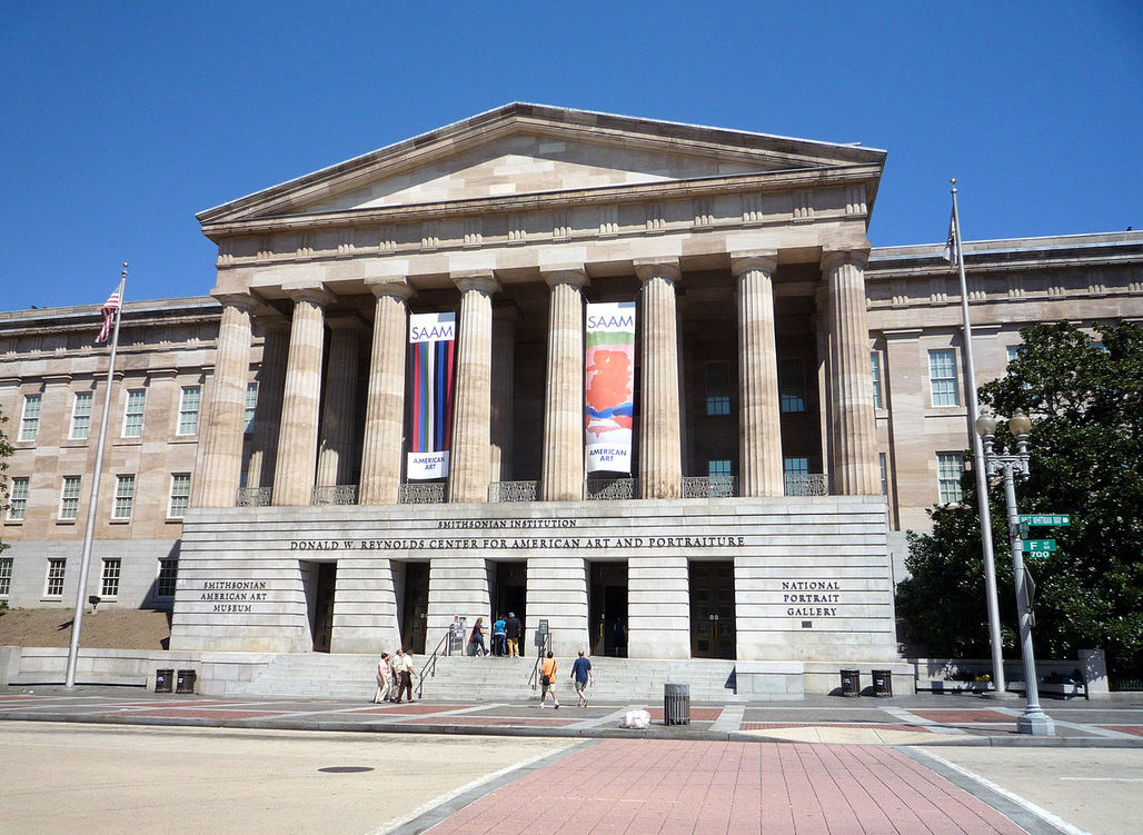 Only one of the 35,000 museums in the U.S.: The National Portrait Gallery in Washington, D.C. (Photo: Bobak HaEri/Wikipedia)