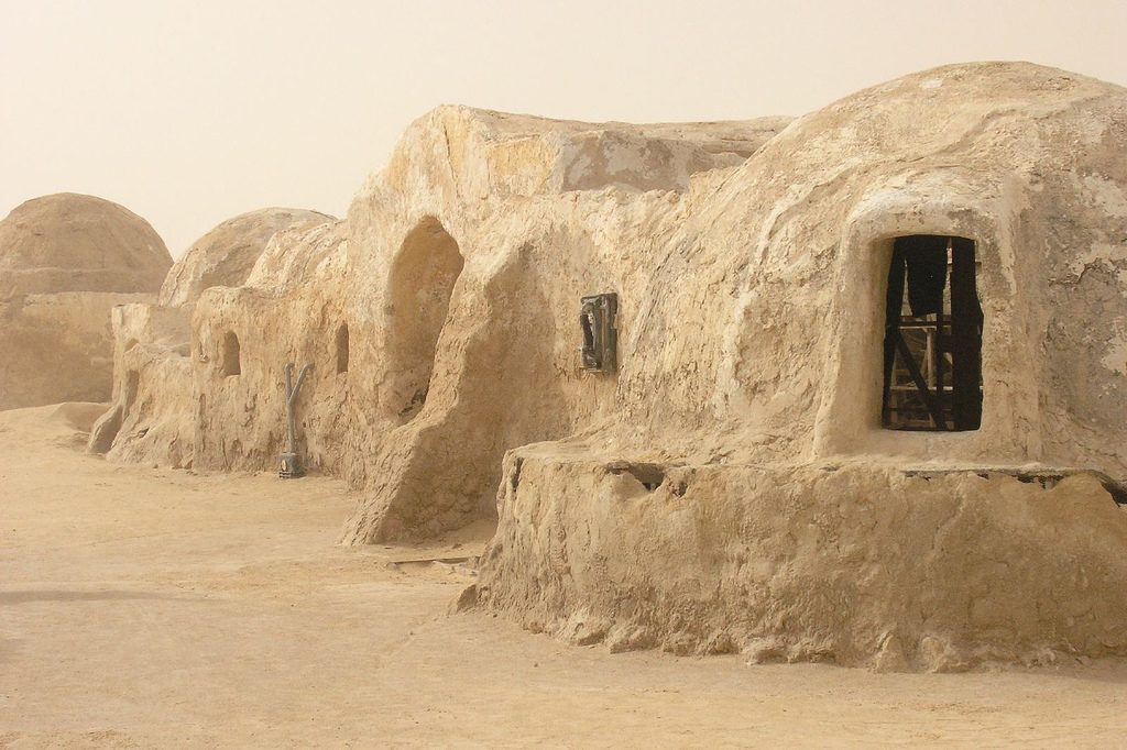 The set of Tatooine from the Star Wars movies was actually based on the Berber architecture in nearby Matmata. Now, the region is under threat from ISIL. Credit: Wikipedia