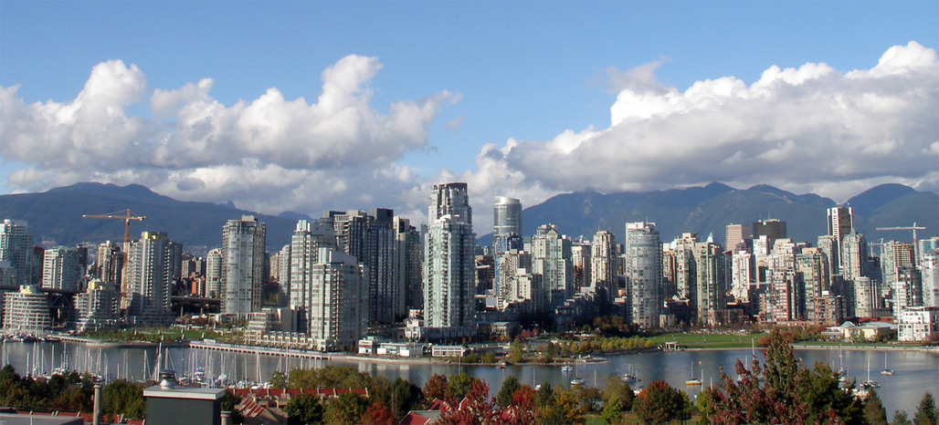 Hot, hotter, Vancouver: the city currently tops the UBS global real estate bubble index. (Photo by Thomas Quine via Wikipedia)