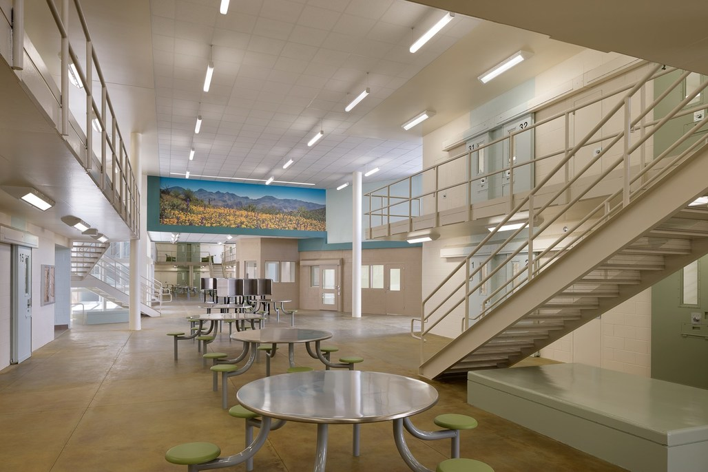 Las Colinas Women's Detention and Re-entry Facility. Image via ozy.com, courtesy of San Diego County Sheriffs Department