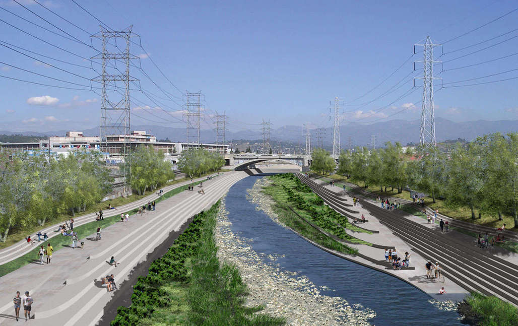 L.A.s doing it, and other cities around the world are also re-embracing their forgotten waterways. (Pictured: Los Angeles River Revitalization Master Plan)