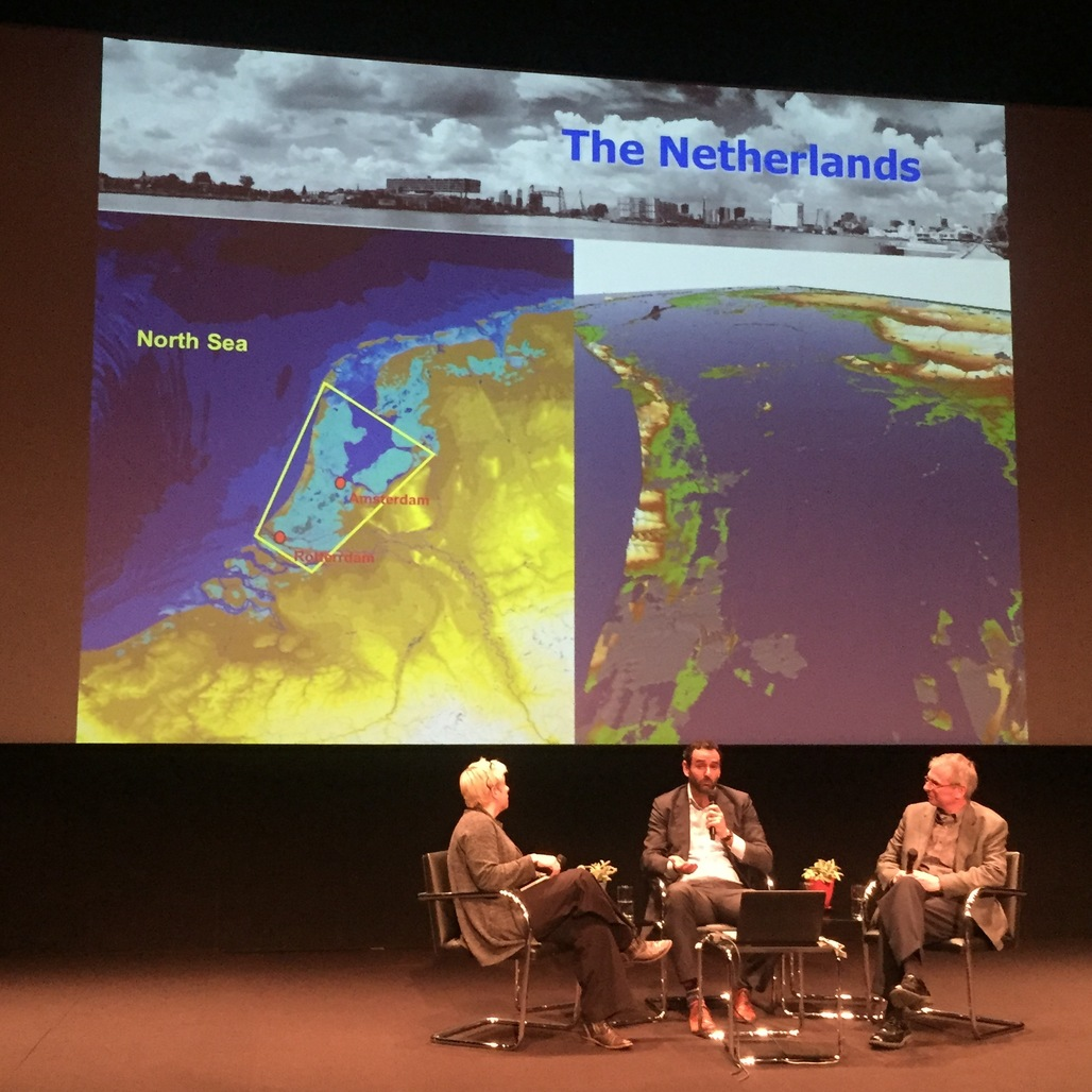 Kristina Hill, Peter Wijsman, Jeremy Lowe at the Billy Wilder Theater at the Hammer Museum. Credit: author
