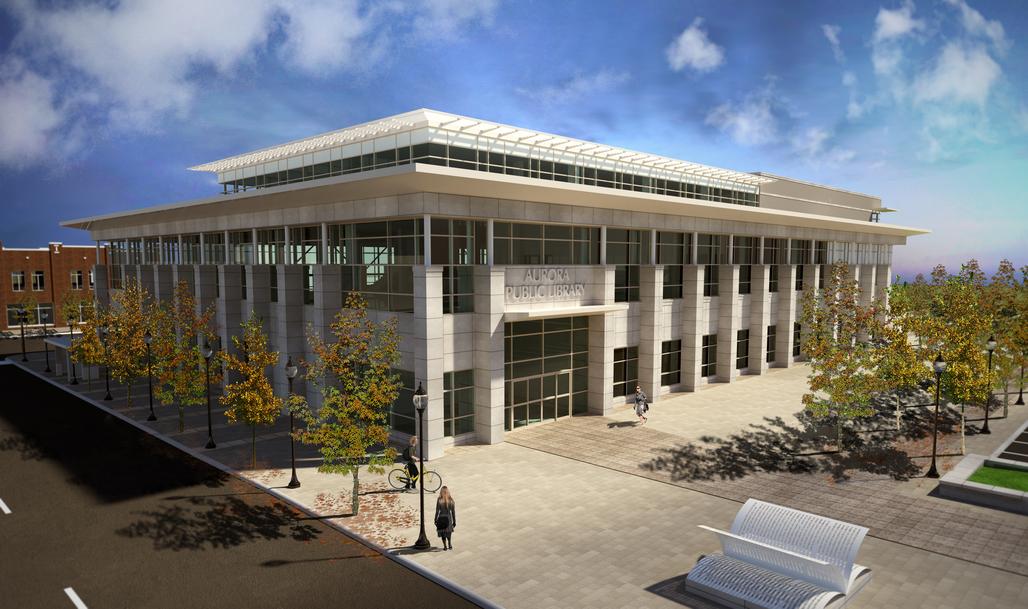 Aurora Public Library: Exterior