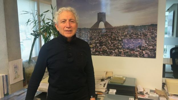 Hossein Amanat, who designed Irans Azadi Tower, now lives in Vancouver where he runs his own architecture practice. Photo via bbc.com