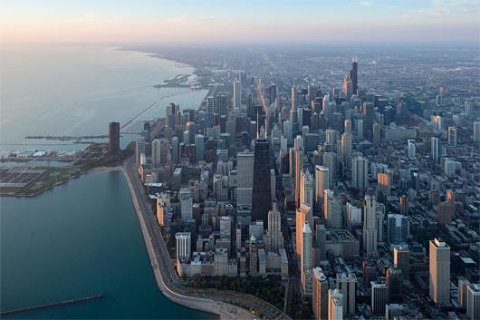 Iwan Baan / Chicago, 2014, via chicagoarchitecturebiennial.org