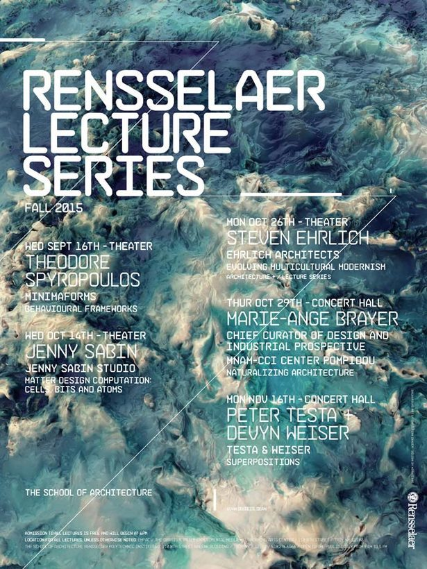 Rensselaer Polytechnic Institute Fall 2015 Lecture Series.