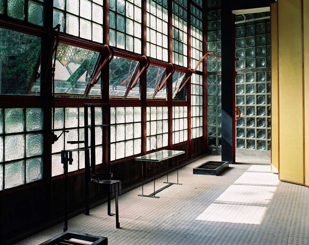 Pierre Chareau (French, 1883-1950) and Bernard Bijvoet (Dutch, 1889-1979), Maison de Verre, 1928-1932. Photograph © Mark Lyon.