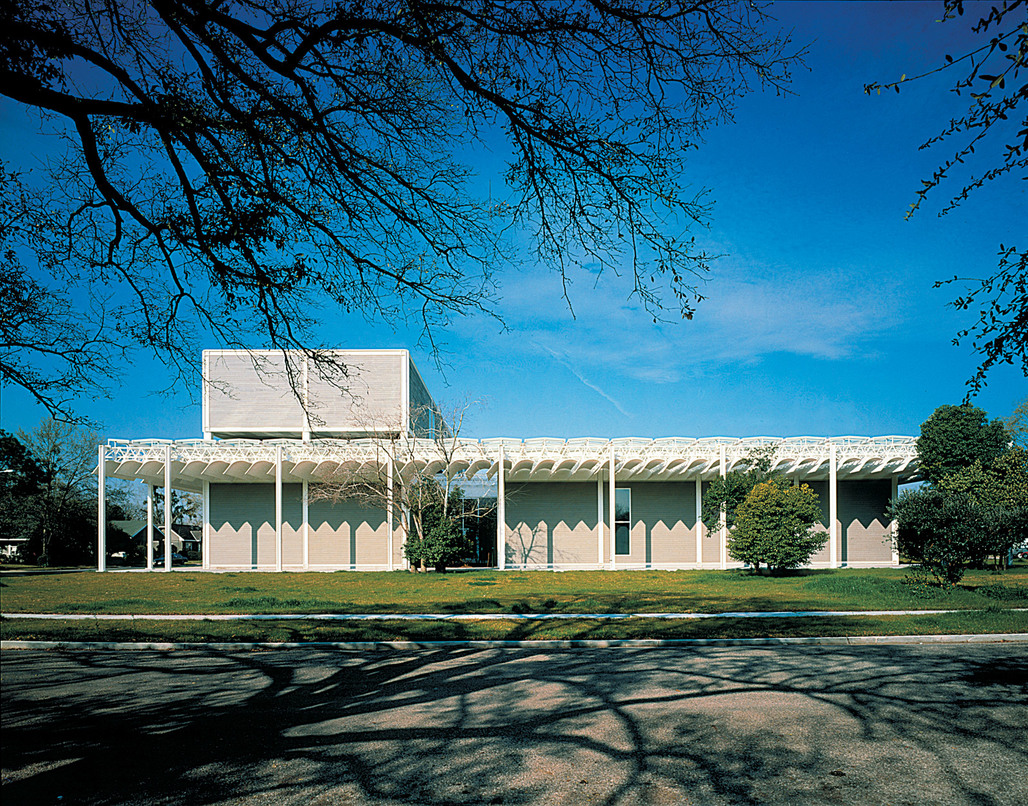 Winner of the 2013 AIA Twenty-five Year Award: The Menil Collection in Houston, Texas designed by Renzo Piano Building Workshop (Photo: Hester Paul)