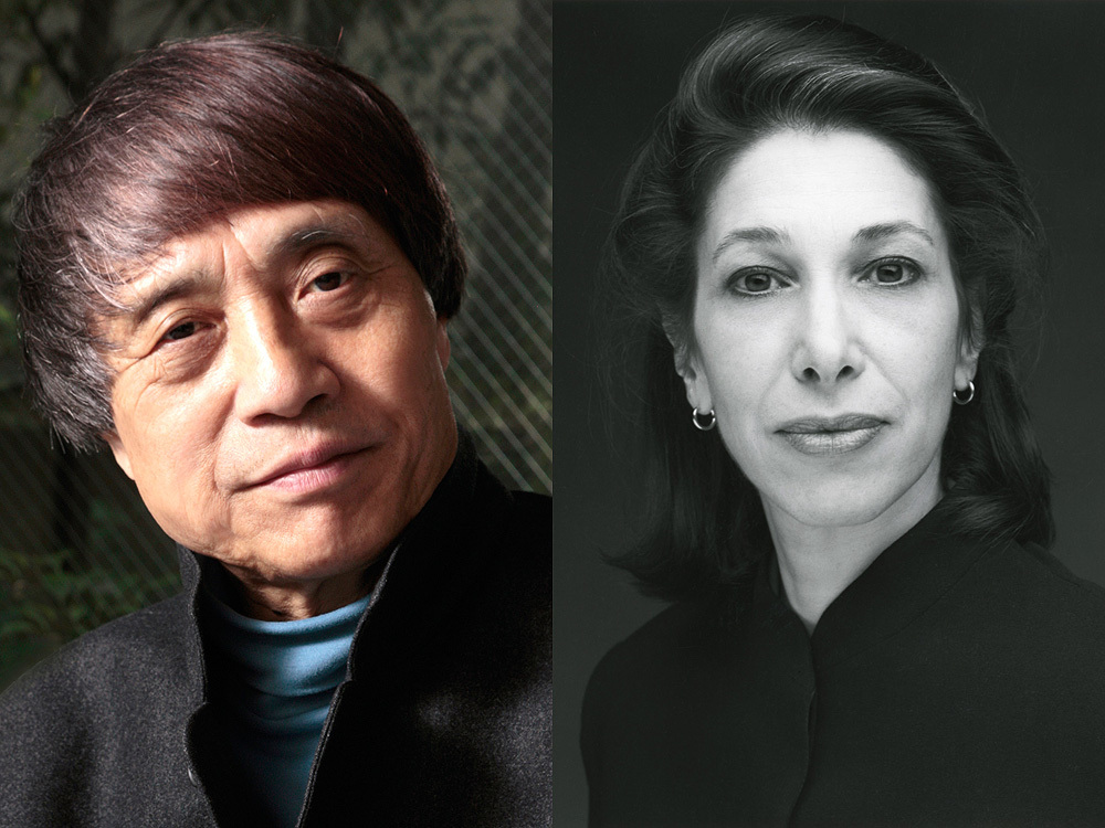 Tadao Ando (Photo: Kinji Kanno) | Elyn Zimmerman (Photo: Timothy Greenfield-Sanders)