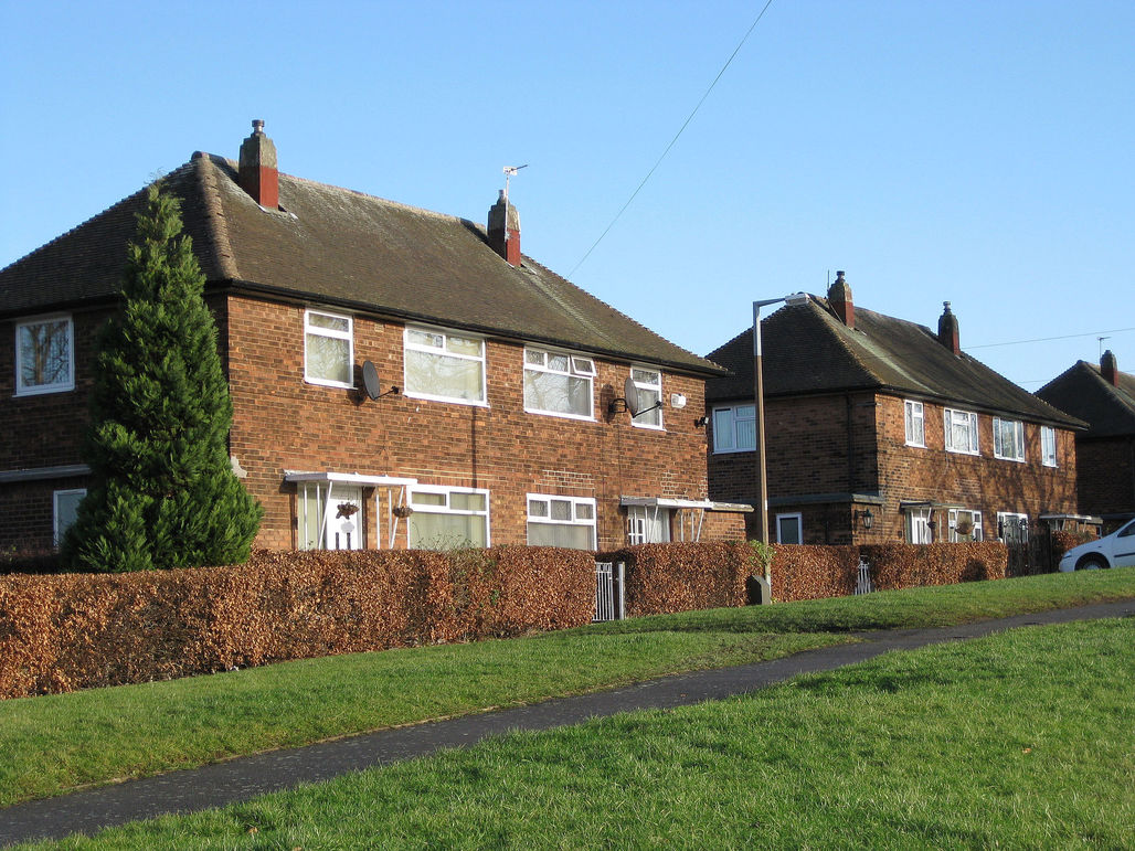 Council housing in Leeds. Credit: Wikipedia