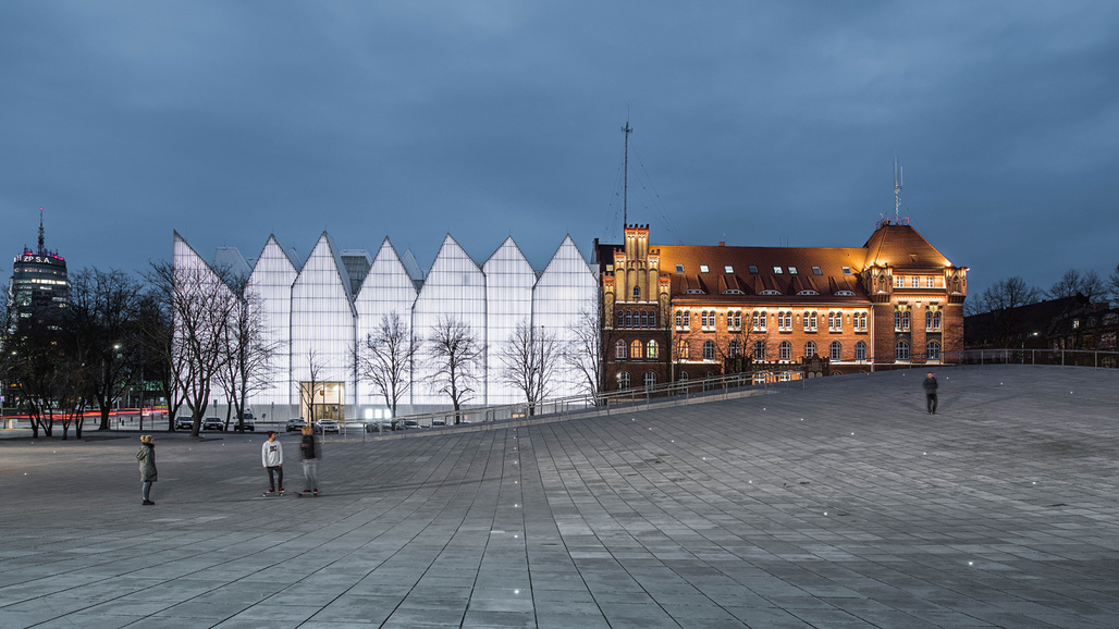 2016 WAF World Building of the Year: National Museum in Szczecin, Poland by Robert Konieczny/KWK Promes.