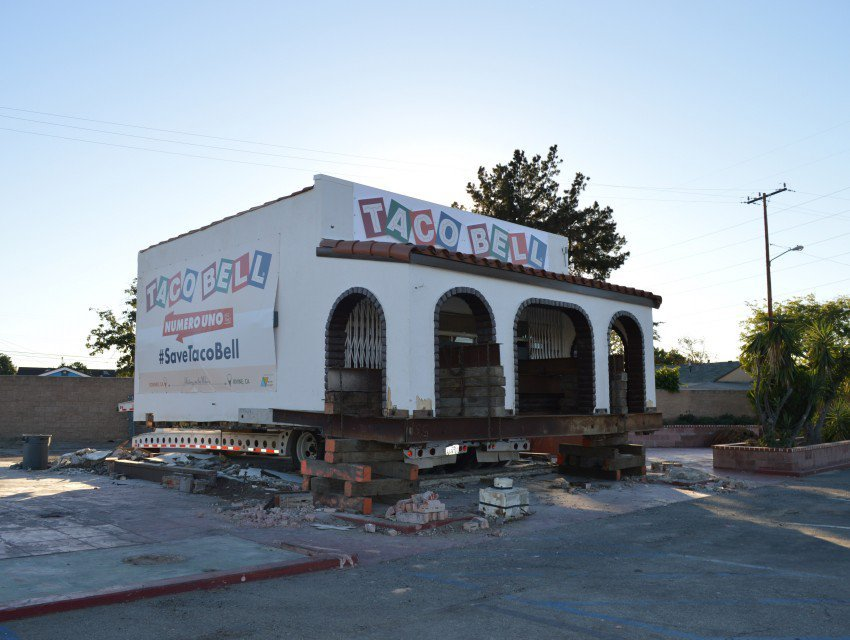 The worlds first Taco Bell is being moved to Irvine (photo via Los Angeles Magazine)