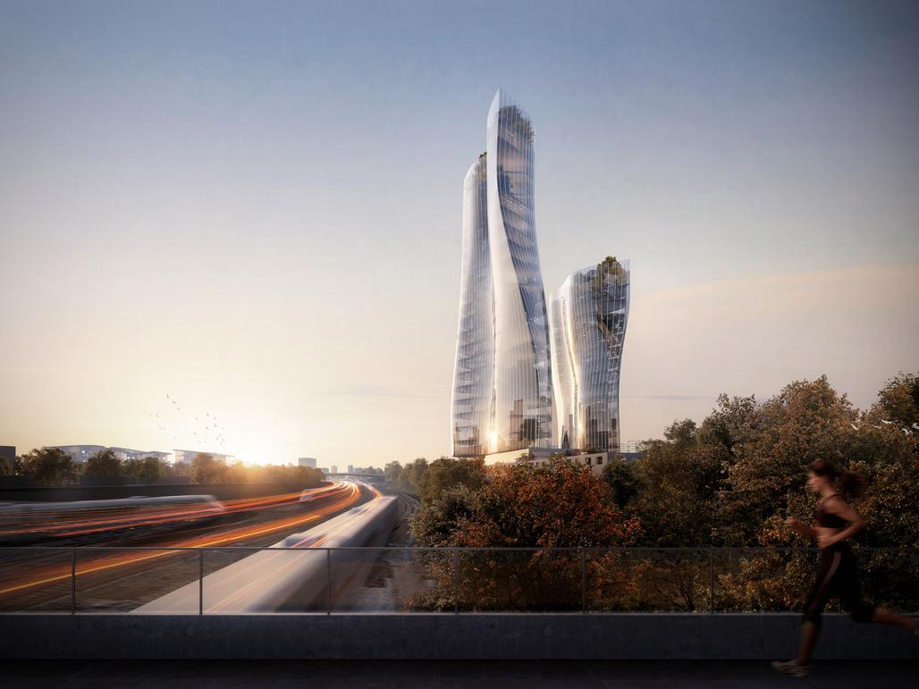 Scali Milano Scalo Farini Future Skyline. Image: MAD