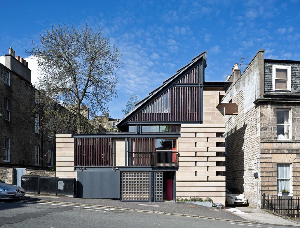 Richard Murphy Architects, Murphy House. Photo © Keith Hunter.