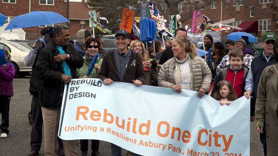 Rebuild by Design was just awarded an innovation prize by Administrative Conference of the United States. Credit: Rebuild by Design