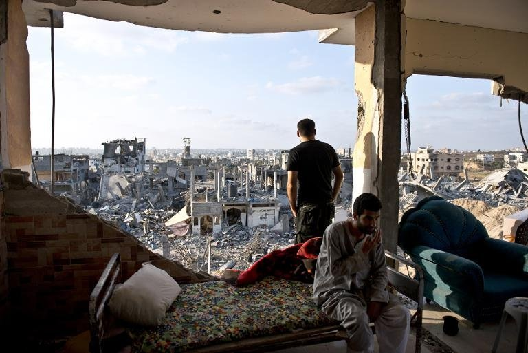 The recent invasion of Gaza has caused at least $6 billion in damages. Credit: AFP