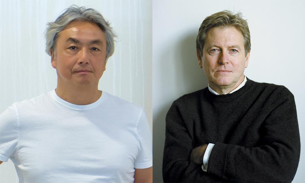 2017 Isamu Noguchi Award recipients: Hiroshi Senju; John Pawson (photo by: Cindy Palmano).