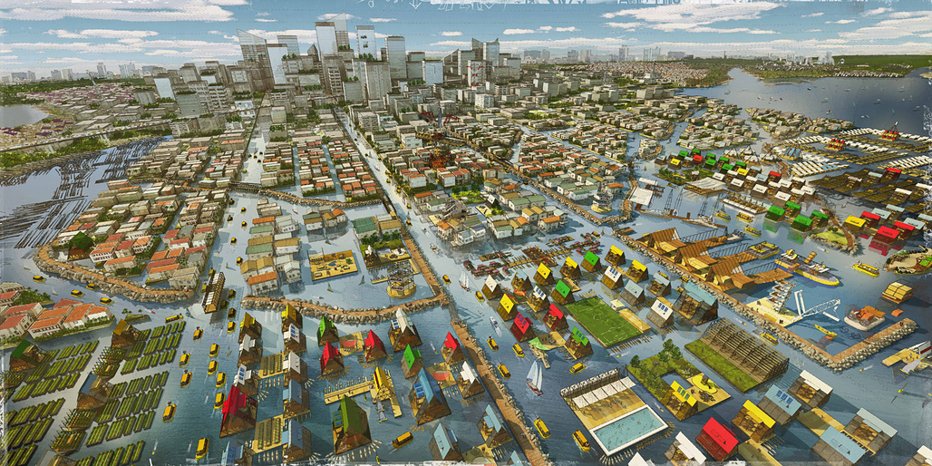 "LAGOS proposal for MoMAs ""Uneven Growth: Tactical Urbanisms for Expanding Megacities"" initiative. Credit: NLÉ + Zoohaus/Inteligencias Colectivas"