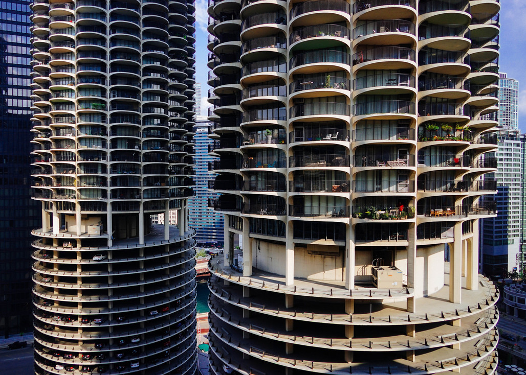 For many Marina City residents the summer of 2016 will be remembered as the Great Balcony Tease or Summer Bummer. (Photo: Jeffrey Zeldman/flickr.)