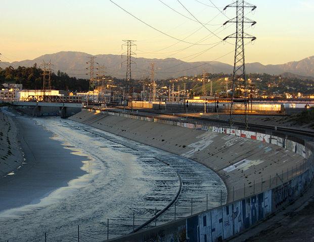 LA River, image via wikipedia.org.