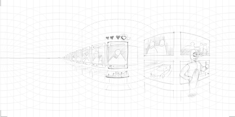 Volodymyrs 10 minute sketch. Image: Volodymyr Kurbatov