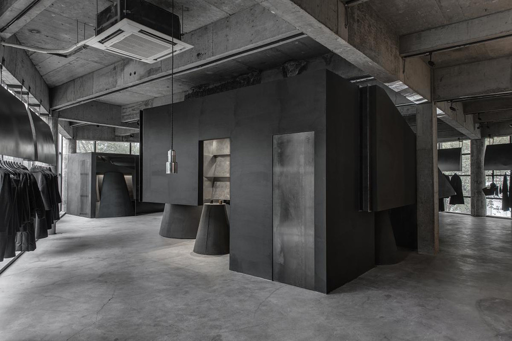 Black Cant System by Hangzhou AN Design Studio.