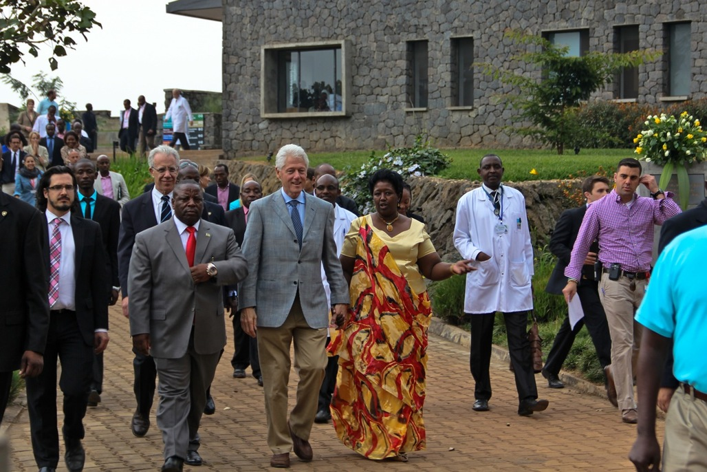 Photo Credit: MASS Design Group. Ground breaking of Butaro Cancer Centre of Excellence