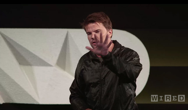 Still from Bjarke Ingels recent presentation at WIRED by Design last month at Skywalker Sound, California. Image via wired.com.
