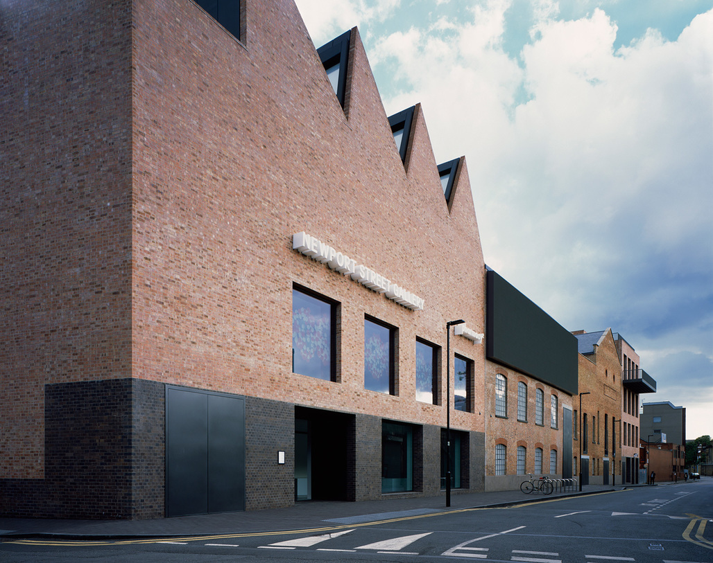 2016 Stirling Prize winner Newport Street Gallery designed by Caruso St John. Photo by Hélène Binet.