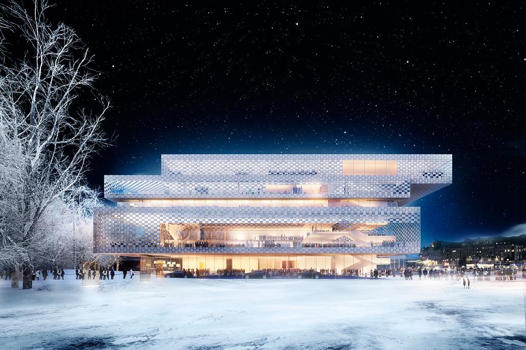 A P(a)lace to enjoy by Wingårdh Arkitektkontor. Photo © Nobelhuset AB