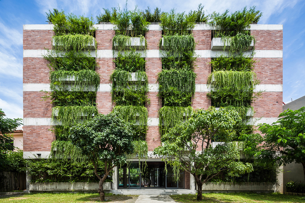 Atlas Hotel Hoi An by Vo Trong Nghia Architects. Category: Hotel and Leisure
