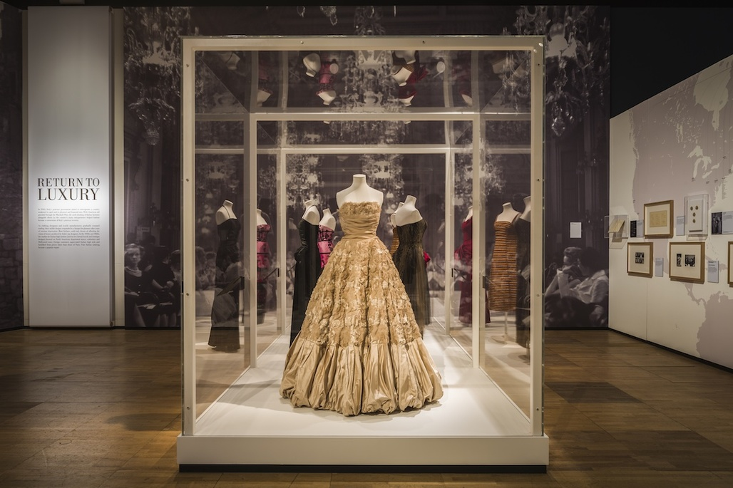 Urban Salon's Glamour of Italian Fashion exhibition at the V&A
