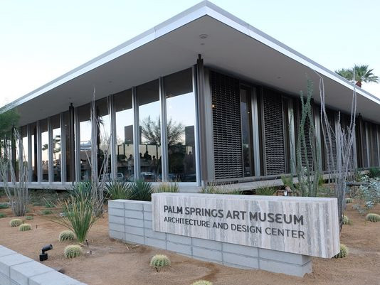 Hundreds flocked to downtown Palm Springs Sunday for the grand opening of the Palm Springs Art Museum's Architecture and Design Center, an ode to the city's unique — and timeless — mid-century modern designs. (via desertsun.com; Photo: Desert Sun file photo)