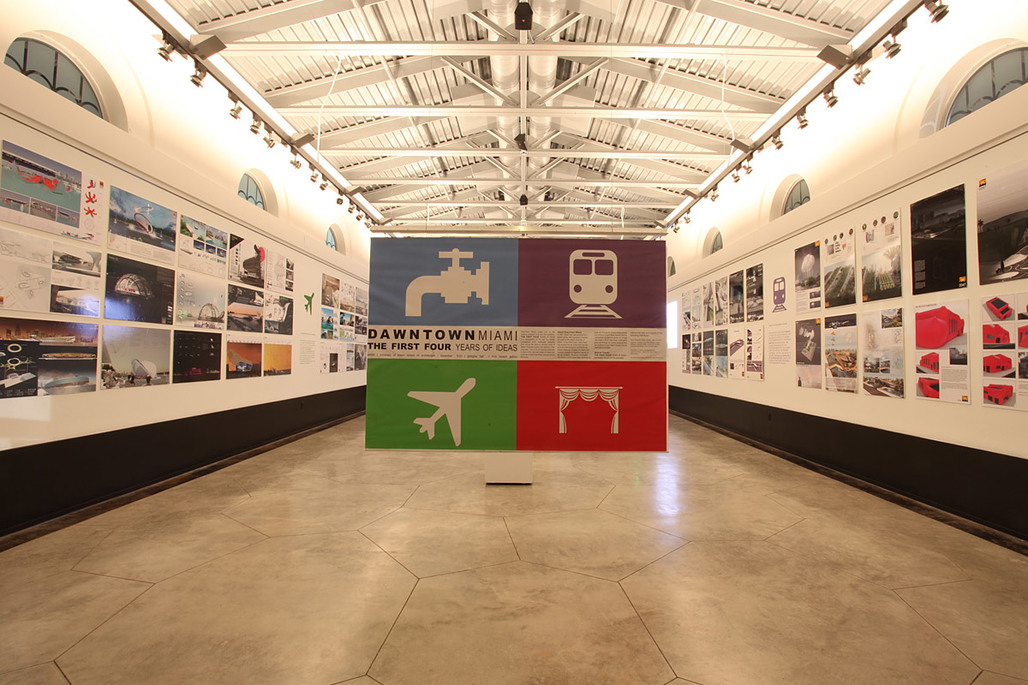 At the opening event of the DawnTown Miami | The First Four Years of Ideas exhibition, Nov 9, 2011