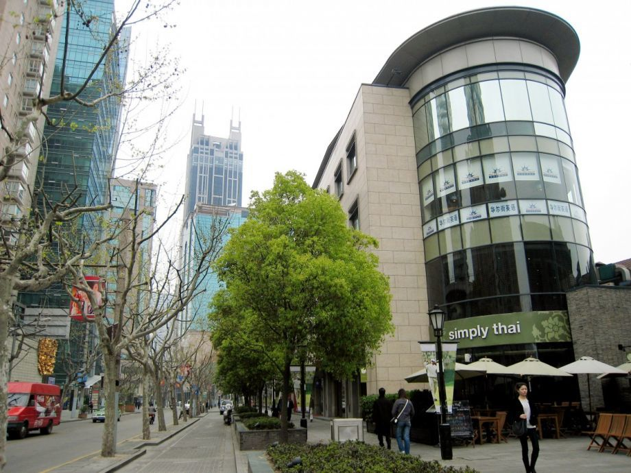 Xintiandi, a walkable retail district in Shanghai, China (AP Photo/Eugene Hoshiko)