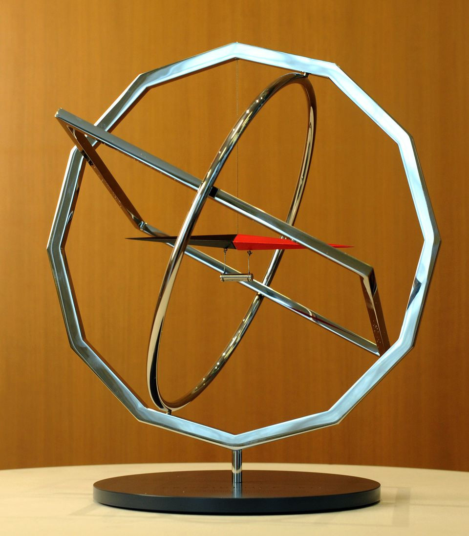 Mayors Challenge Grand Prize Award Trophy designed by Olafur Eliasson